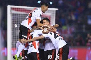 River sacó ventaja ante Cerro Porteño y se acerca a las semifinales de la Libertadores -  -