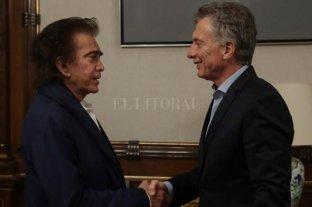 "Macri recibió a José Luis ""Puma"" Rodríguez en la Casa Rosada"