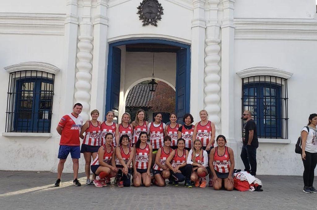Gran rendimiento. El mostrado por las Mamis Hockey de Unión en el Nacional de Tucumán, en el cual finalizaron décimas entre 62 equipos. <strong>Foto:</strong> Gentileza Mamis Hockey Club Unión