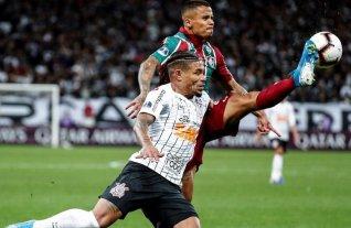 Copa Sudamericana: Corinthians empató con Fluminense en la ida