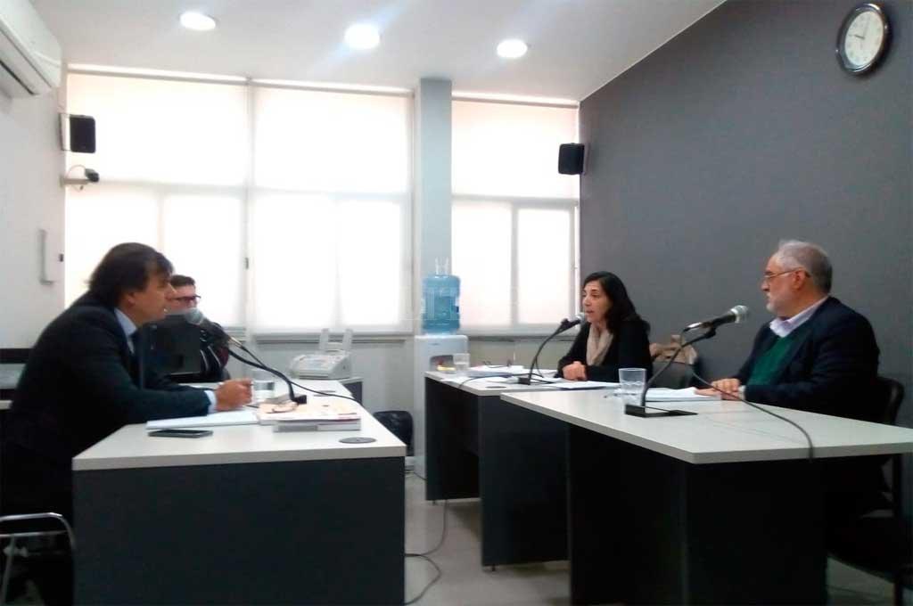 El juez de Garantías Eduardo Ruhl rechazó ayer el pedido de Miguel Ángel Cullen, defensor de Sergio Varisco. <strong>Foto:</strong> Gentileza