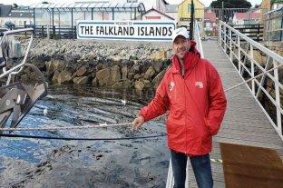 Un entrerriano unió las Islas Malvinas a nado