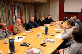 Jatón se reunió con las autoridades de la Cámara Argentina de la Construcción -  -