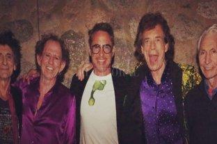 Robert Downey Jr. irrumpió un show de The Rolling Stones con un anuncio de la NASA