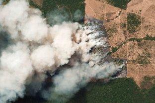 El humo de los incendios en el Amazonas llegó al norte de Argentina
