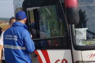 Dio positivo el control de cocaína a un chofer que debía transportar alumnos a Rosario