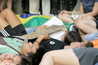 Incendios en el Amazonas provocan protestas contra Bolsonaro en varios países