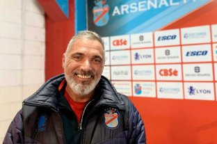 El DT de Arsenal se mostró conforme pese a la derrota con San Lorenzo