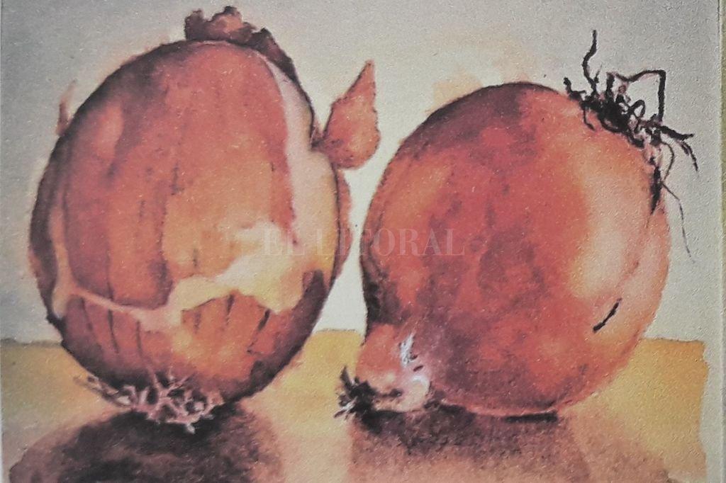 Obra sin título de Marta Lavanchy, ganadora del Primer Premio del Salón.