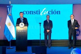 Macri encabeza un acto en Santa Fe por los 25 años de la Reforma Constitucional