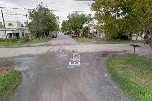 Mató a un hombre de 80 años y le usurpó la casa - Intersección de las calles Edison y España, en Rafaela, donde tenía su casa Brisio Montenegro, asesinado por un usurpador.