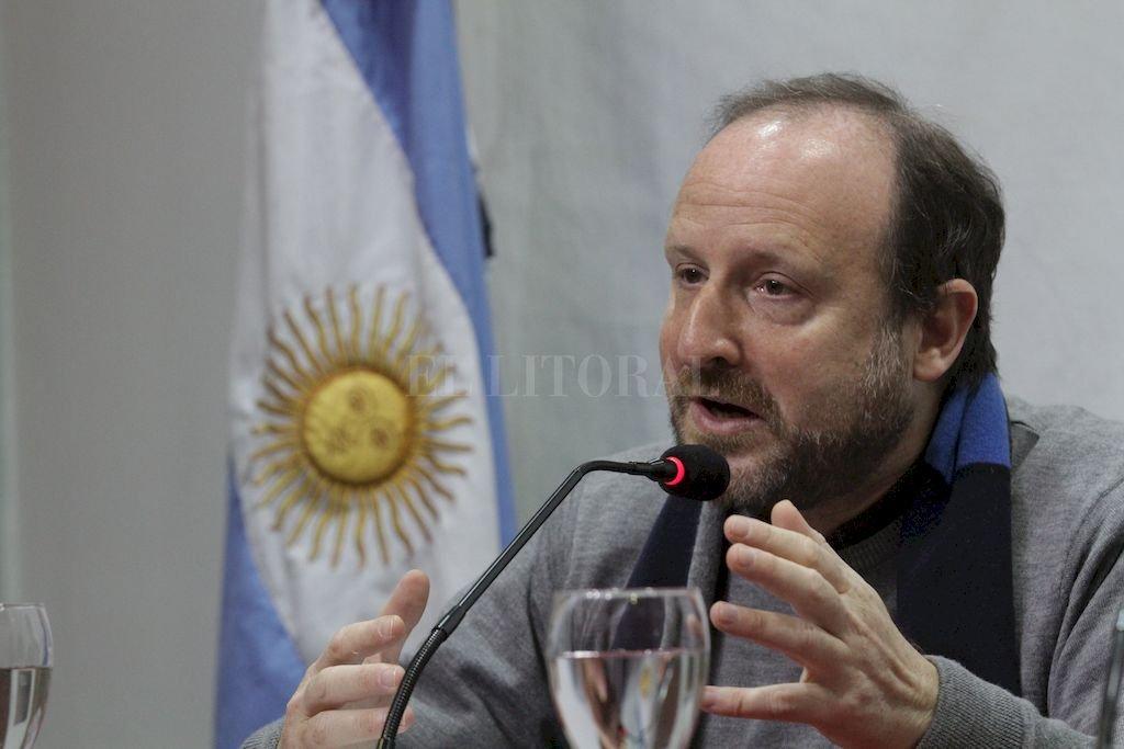 """""""La cadena de frío tampoco se puede interrumpir en la investigación, ni en la biológica ni en la social"""", advirtió Mario Pecheny, en relación con la política presupuestaria nacional. Crédito: Mauricio Garín"""