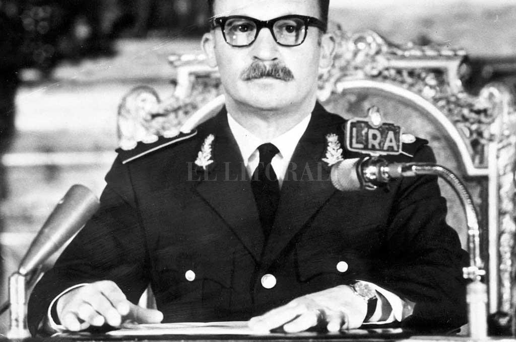 Juan Carlos Onganía asumió la presidencia en 1966 Crédito: Gentileza