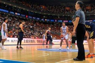 Argentina superó a Rusia en la previa del Mundial de China