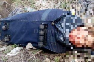 Hallan el cuerpo de un hombre dentro de una valija en Ezeiza