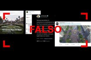 Tres desinformaciones sobre la marcha del #24A a favor de Macri