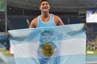 Hernán Urra logró la medalla de oro en lanzamiento de bala masculino en los Parapanamericanos