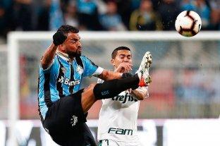 Palmeiras y Gremio, por un lugar en las semis de la Libertadores