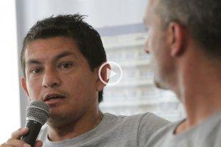 """""""Pulga"""" Rodríguez: """"El grupo trabaja al 100% con el cuerpo técnico"""""""
