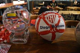 Todo listo para el Diego Barisone