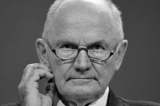 Falleció el histórico jefe de Volkswagen Ferdinand Piëch