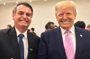 Pese a las críticas, Trump ratificó su apoyo a Bolsonaro
