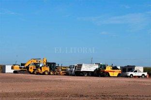 Autopista Rufino - Rosario: la plata no apareció y las máquinas se van yendo