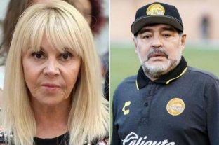 Operativo en el departamento de Claudia Villafañe para recuperar pertenencias de Maradona