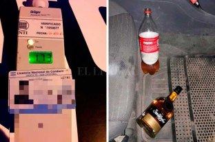 Retuvieron a un conductor alcoholizado en el norte de Santa Fe