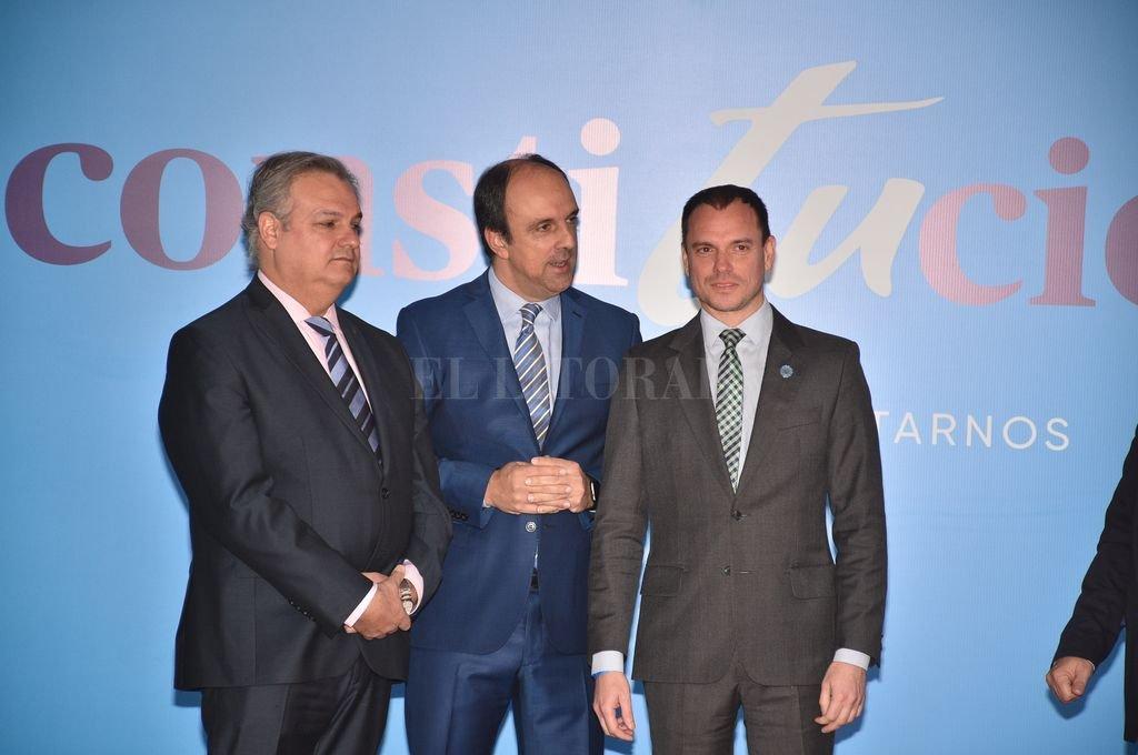 Pablo Farías, José Corral y Fernando Sánchez. Crédito: Pablo Aguirre