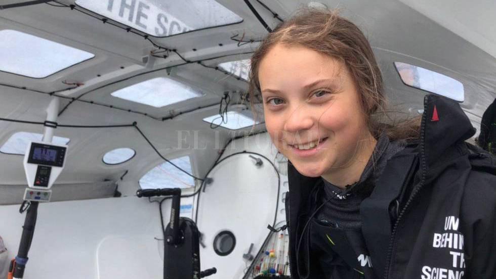 Greta Thunberg <strong>Foto:</strong> Captura de pantalla