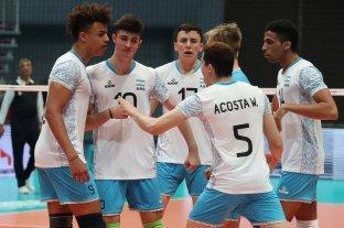 Argentina le ganó a Bulgaria y es semifinalista del Mundial de Voley Sub 19