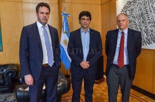 Nueva reunión entre Lacunza y Sandleris con la misión del FMI