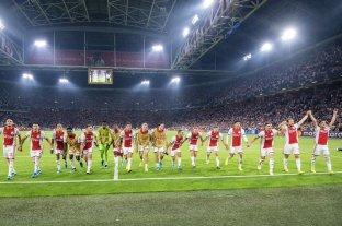 Ajax clasificó a la fase de grupos de la Champions