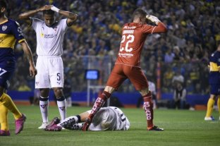 La escalofriante lesión que sufrió un jugador de Liga de Quito ante Boca