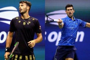 Lóndero luchó pero no pudo con Djokovic, número uno del mundo