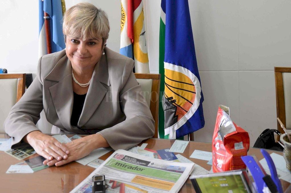 Stella Maris Clerici, intendenta de Cañada de Gómez, describió un panorama preocupante para las administraciones del interior de la bota. <strong>Foto:</strong> Archivo El Litoral