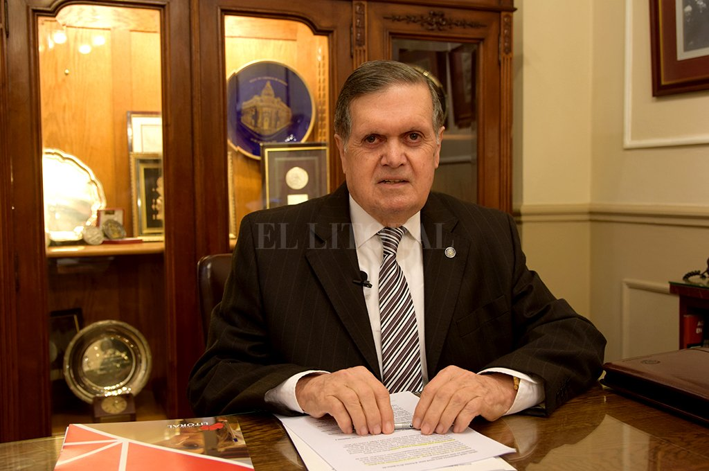 Ulises Mendoza - Presidente de la Bolsa de Comercio de Santa Fe <strong>Foto:</strong> Federico Cioni - El Litoral