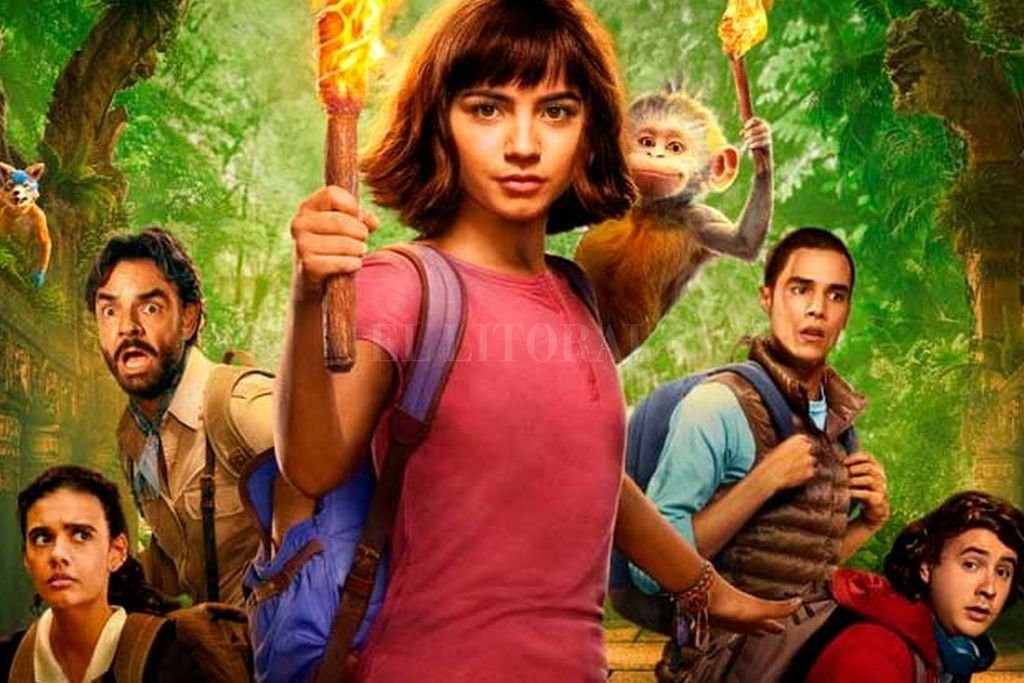 Dora comenzará el desafío de la secundaria pero eso no le impedirá volver a resolver misterios de civilizaciones perdidas. <strong>Foto:</strong> Gentileza Universal Pictures