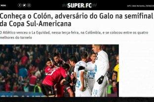 """La prensa brasileña analiza a Colón: """"Eficiente en los mano a mano y malo en el torneo"""""""