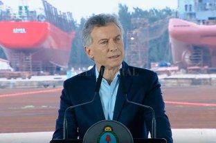 """Macri llamó a la oposición a """"colaborar"""" con la """"institucionalidad democrática"""""""
