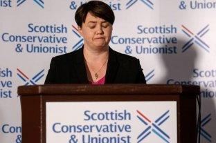 Brexit inminente: renunció la líder conservadora de Escocia