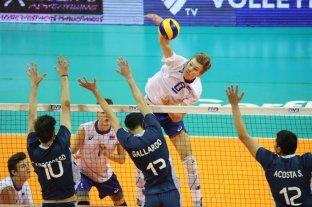 Argentina perdió ante Rusia e irá por el bronce en el Mundial de Voley Sub 19