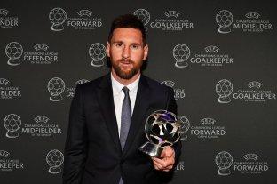 Messi fue elegido el mejor delantero de la temporada 2018/19