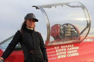 Jessi Combs falleció tratando de batir su propio récord