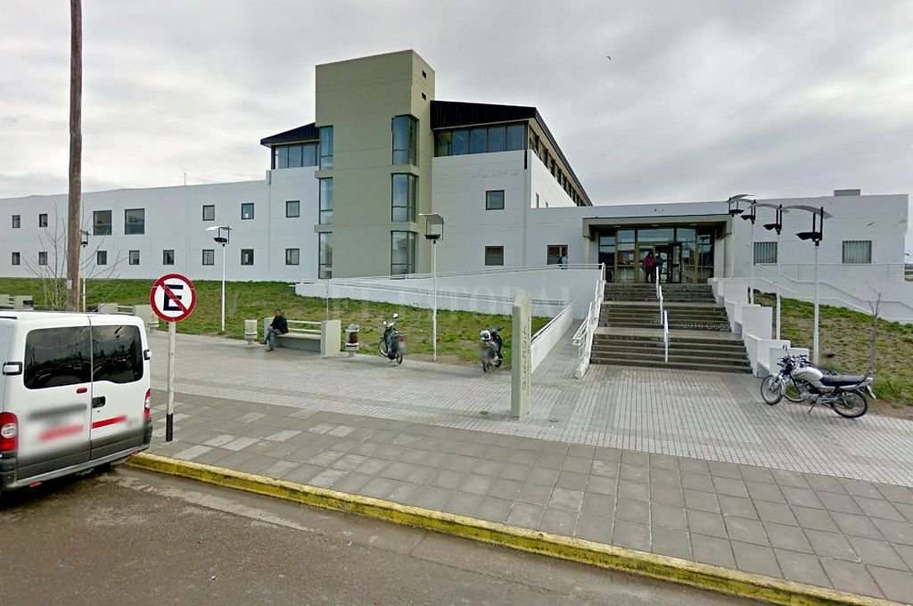 Hospital Zonal de Puerto Madryn. <strong>Foto:</strong> Captura digital - Google Maps Streetview