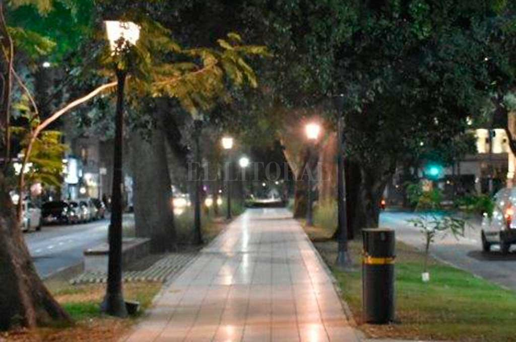 El hecho se produjo en pleno bulevar <strong>Foto:</strong> Archivo El Litoral