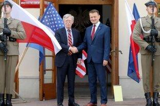 Llegan tropas estadounidenses a Polonia
