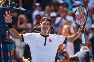 Federer aplastó a Evans y pasó a octavos de final del US Open