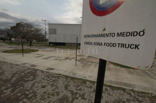 Se retiraron los food trucks de la zona de los boliches